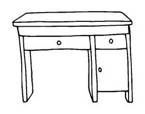 color desk desk coloring page coloringcrew