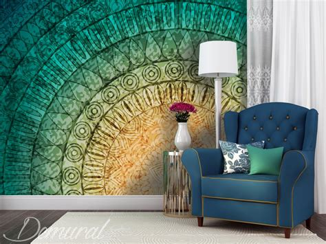 Wall Mural Photo A Mural Mandala Wall Murals And Photo Wallpapers