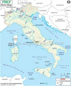 map of italy po river map travel holidaymapq