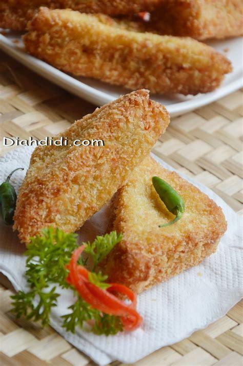 Diah Didi's Kitchen: Memanfaatkan Stock Roti Tawar Menjadi