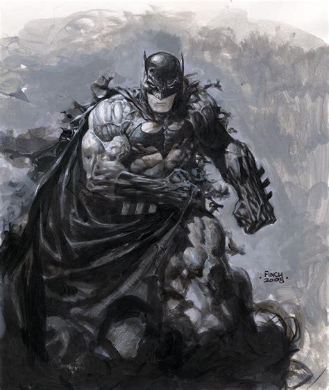 batman painting free comics de david finch sur planetebd