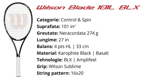 wilson blade 101 lite blx review by tenisshop ro