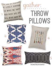 decorating with throw pillows gather modern throw pillows the inspired room
