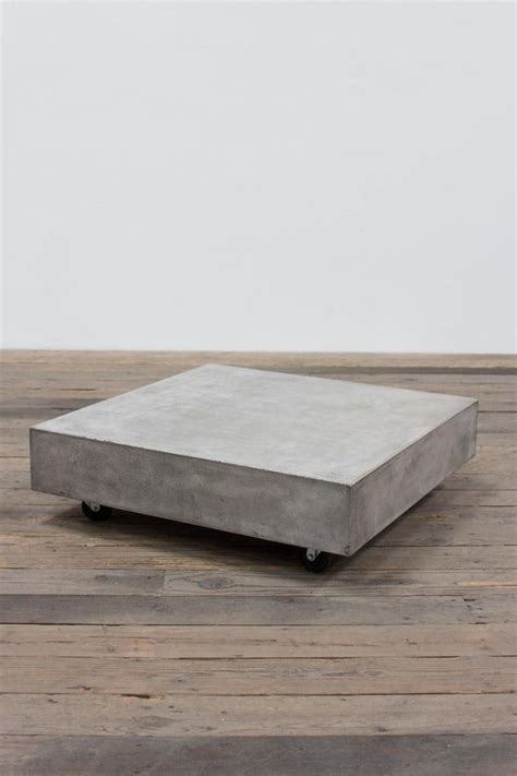 concrete coffee tables 1000 ideas about concrete coffee table on