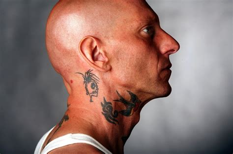 tattoo neck back man mens tattoos 187 neck tattoos for men