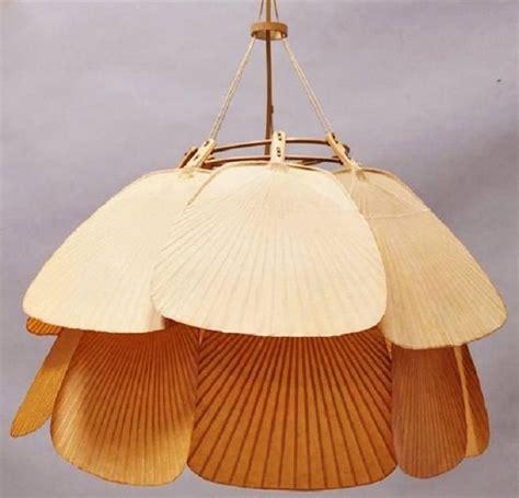 Rice Paper Pendant Light Ingo Maurer Uchiwa Pendant Chandelier Rice Paper And Bamboo At 1stdibs