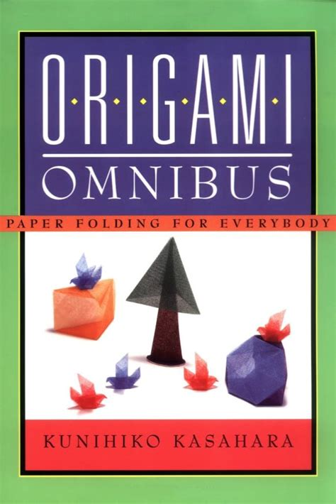 origami omnibus awesome highly recommended origami books and reviews