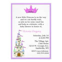princess baby shower invitation zazzle