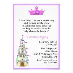 princess baby shower invitation zazzle