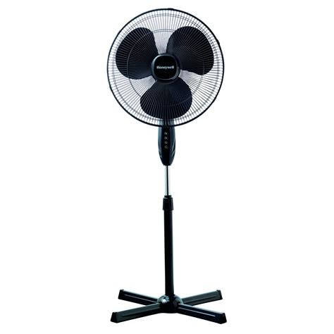 honeywell stand up fan the honeywell hsf1630b quietset 16 quot stand fan black