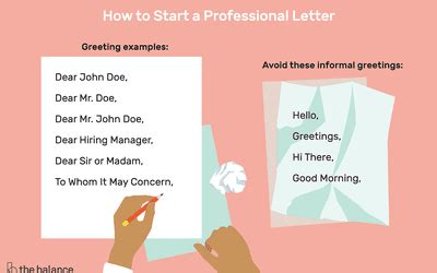 How To Start A Letter To Whom It May Concern