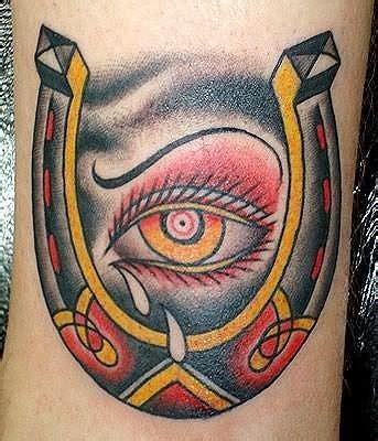 eye tattoo for horses horse horseshoe tattoo images designs