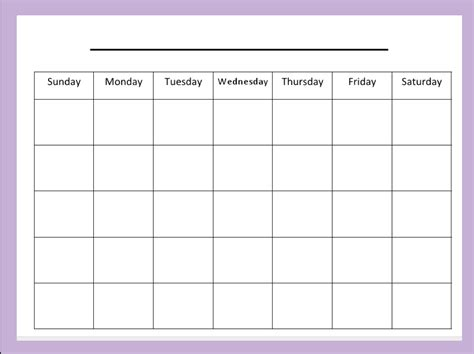 blank calendar template publisher the connected january 2013