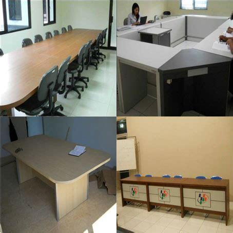 Meja Kerja Workshop melayani pesan antar furniture kantor berbagai kota