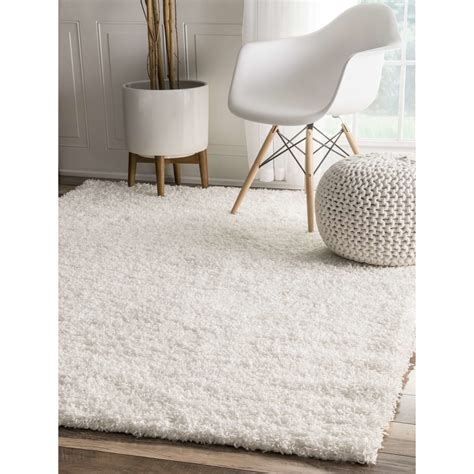 Where Can I Buy Rugs Nuloom Serano Shag White Area Rug Reviews Wayfair