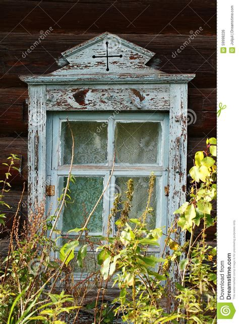 old wooden house in russian village stock photo colourbox windows stock photo image 59998226