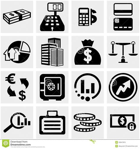 office and business vector icons set on gray royalty free stock images image 33973149 business finance vector icons set on gray stock image image of home mallet 33947815