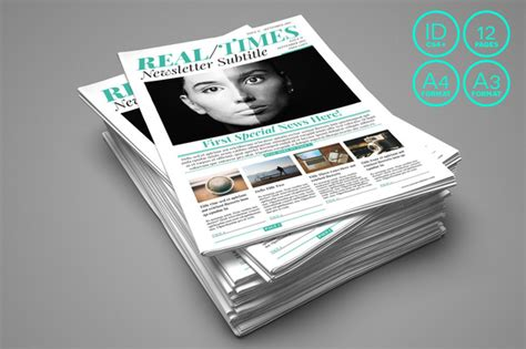 18 great indesign newspaper templates desiznworld