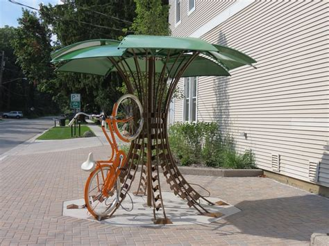The Bicycle Rack by The Bike Petal Rack Velo