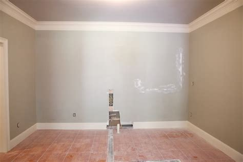 How To Paint Drywall Ceiling by Basement Kitchen Reveal Bower Power