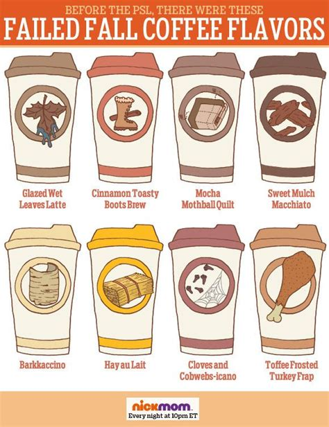 try new coffee flavors this fall before the psl there were these failed fall coffee