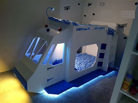 Bunk Beds And Beyond This Goes Above And Beyond With A Space Ship Bunk Bed Build Make