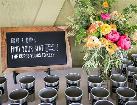 Creative Decor Ideas for the Wedding Cocktail Hour