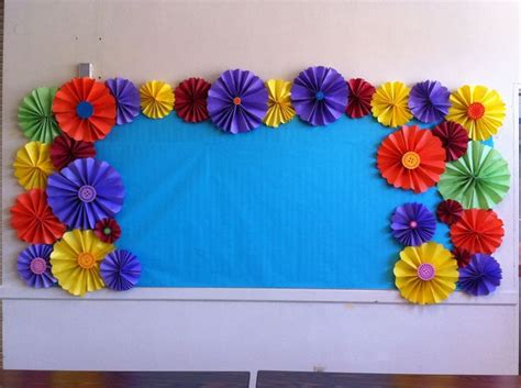 decorative borders for notice boards colorful bulletin board border black and neon love