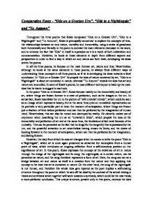 Ode To A Nightingale Essay by College Essays College Application Essays Ode To A Nightingale Essay