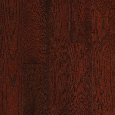 shop bruce oak hardwood flooring sle cherry at lowes com