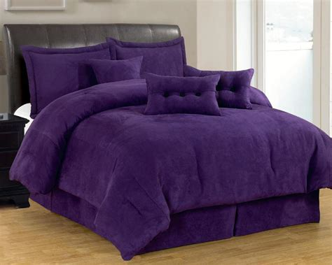 suede bedding blue and purple bedding sets micro suede comforter set
