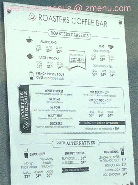 Gas Light Grill Online Menu Of Roasters Coffee Restaurant Richland