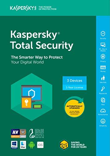 Kaspersky Anti Virus Essential Suite 3 Device h j software trusted by 205 customers in usa