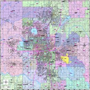 Oklahoma Zip Code Map by Editable Central Oklahoma City Ok Map With Roads
