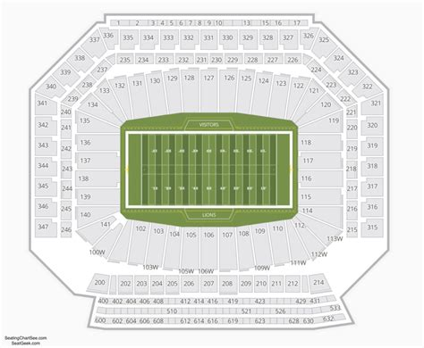Ford Field Tickets by Ford Field Seating Chart Seating Charts And Tickets