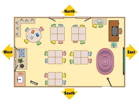 Floor Plan With Scale by Classroom Map National Geographic Society