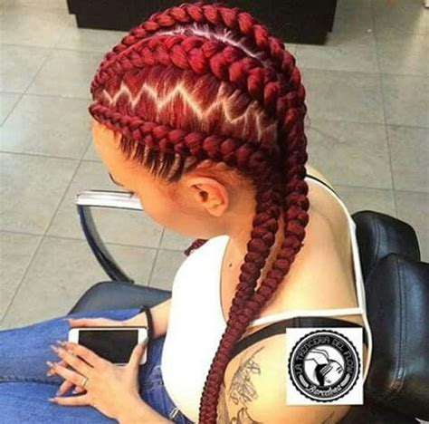 nigeria zigzag braiding 50 ghana braids styles herinterest com