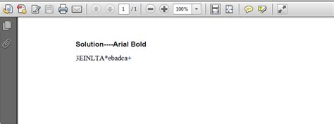 how to convert the word document with non standard font to pdf