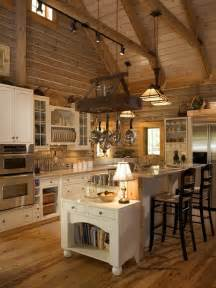 Log Home Kitchen Design Log Homes Kitchens Houzz