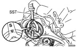 2000 Toyota Camry Timing Belt Toyota 5sfe Timing Marks Toyota Free Engine Image