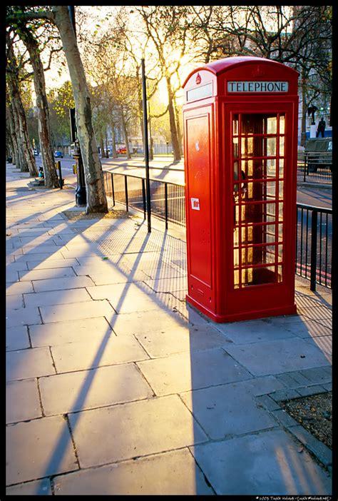 london phone booth london england