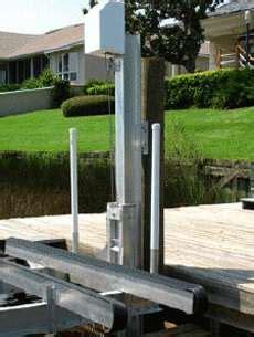 aluminium bootlift aquamore bootliften