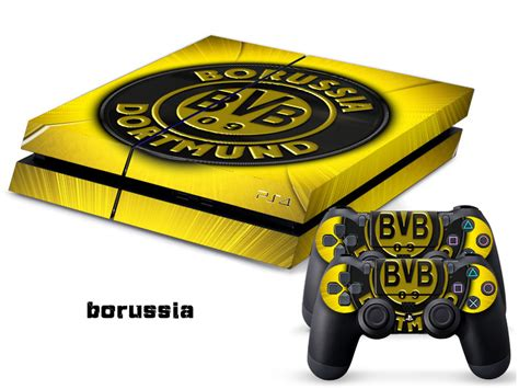 Ps4 Konsolen Aufkleber by Bundesliga Borussia Dortmund F 252 R Ps4 Konsole Haut