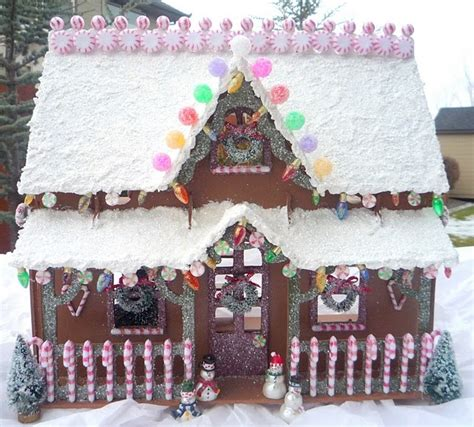 puzzle gingerbread house
