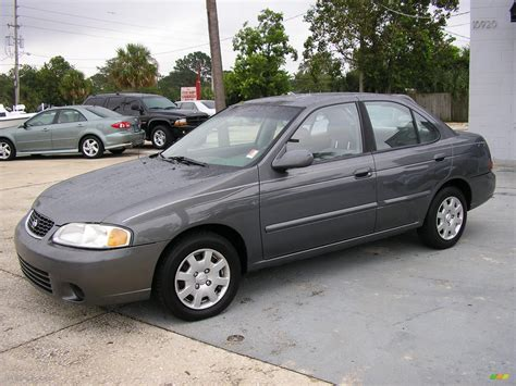 grey nissan sentra 2001 granite gray nissan sentra gxe 288055 photo 5