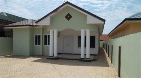 mortgage houses in ghana 3 bed rooms expandable house for sale at spintex road
