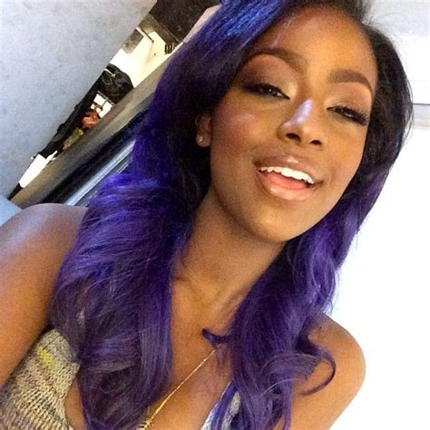 black women with purple hair 1118 best hair envy images on pinterest natural