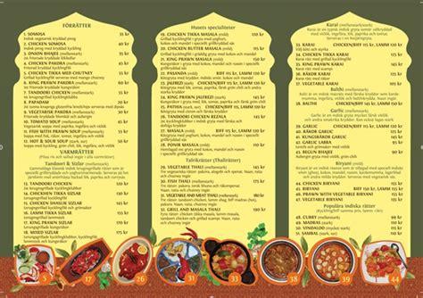 design poster menu menu design for restaurang pub indian haweli by judit
