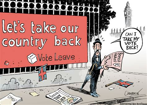 brexit and politics books brexit hangover chappatte