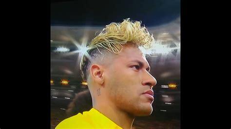 corte de neymar 2018 russia el peinado raro de neymar en el mundial rusia 2018 brasil
